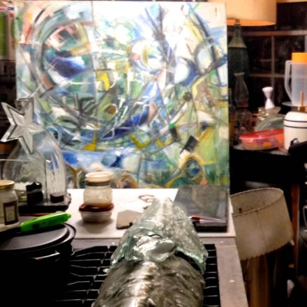 sconces-star-and-painting